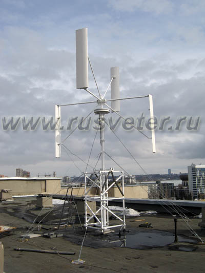 Вертикальные ветрогенератор видео