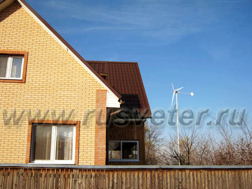 горизонтальный ветрогенератор для частного дома