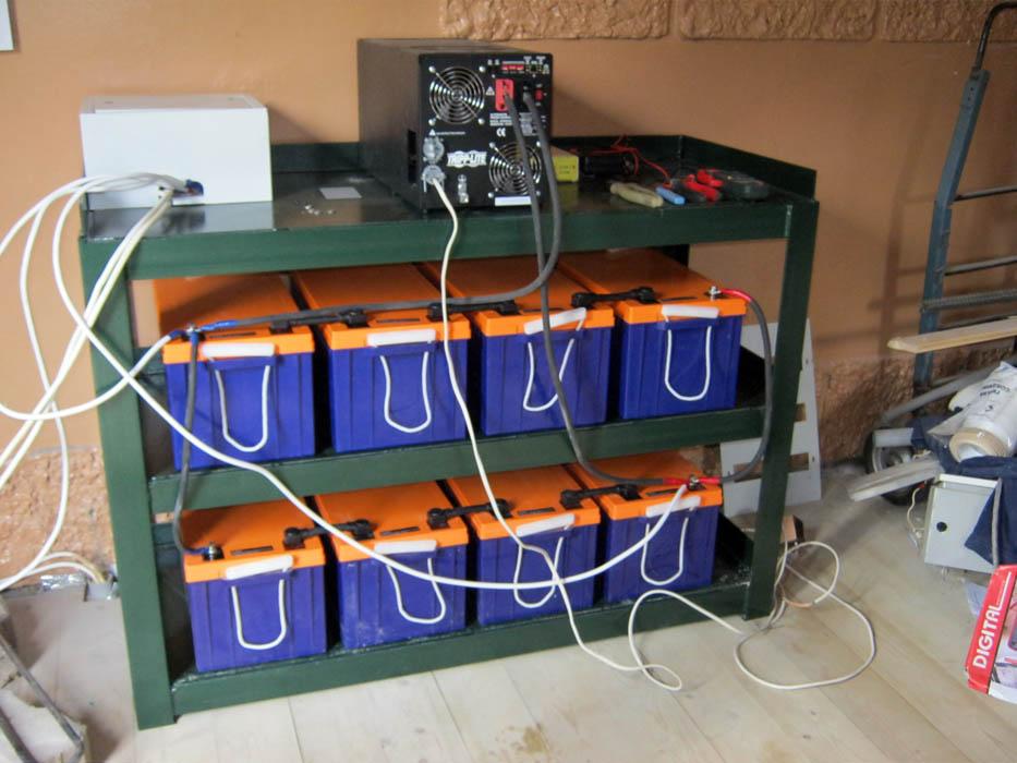 Бесперебойное электроснабжение частного дома своими руками 11