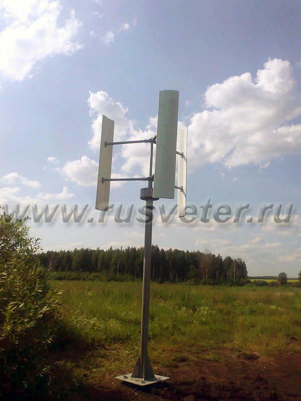 ветрогенераторы для дома вертикального типа